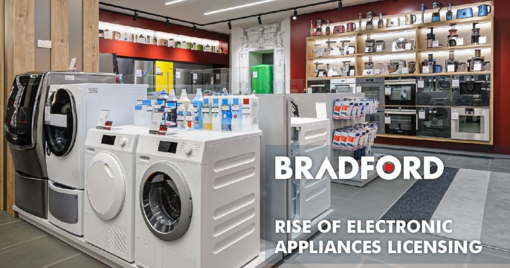Rise of electronic appliances licensing