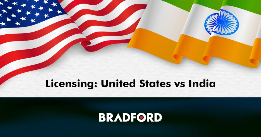 India Vs United State Licensing