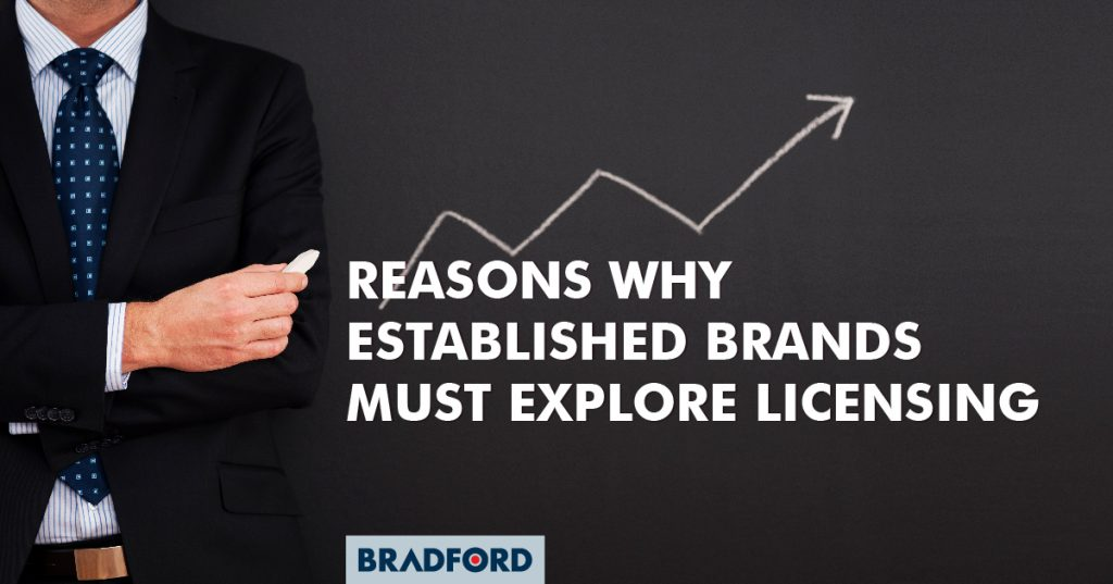 Reasons why established brands must explore licensing