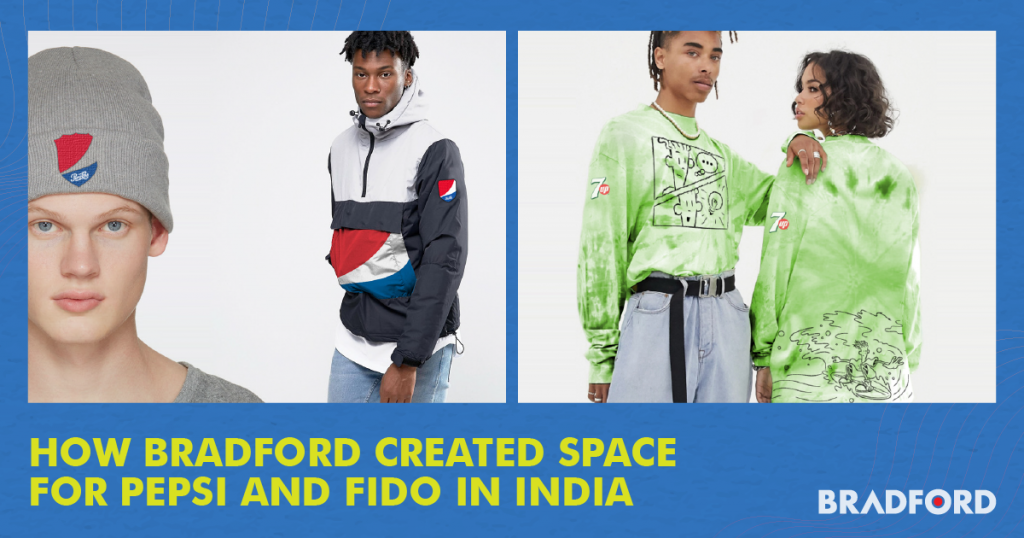 How Bradford Created Space for Pepsi and Fido in India