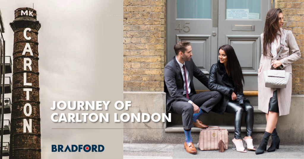 Licensing journey of carlton london